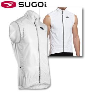 Sugoi RS Versa Magnetic Cycling Vest - White - S M L XL XXL