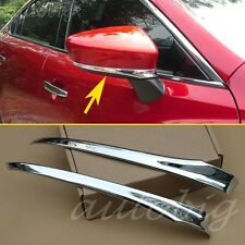 Chrome Side Mirror Cover FOR 2014-2016 Mazda 6 ATENZA Rearview Rear Styling Trim