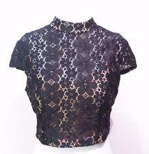 City Studio Lace Top Size 8 # G 274