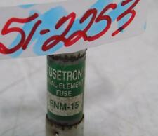 FUSETRON 15AMP DUAL-ELEMENT FUSE FNM-15