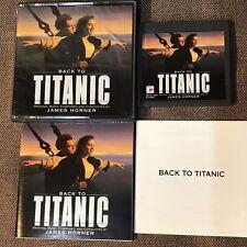 CELINE DION Back To Titanic JAPAN MD-Minidisc SRYS1265 w/BOOKLET POSTER+BOOKLET