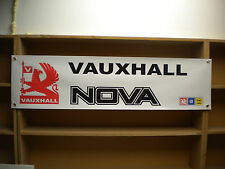 Vauxhall Nova workshop banner 1.0, 1.2, 1.3, 1.4, 1.6 GTE, SRi etc