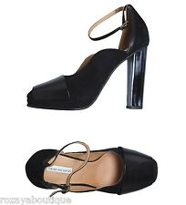 NIB $1,030 Dries Van Noten tortoise shell-detail ankle strap heels. IT 40 US 9.5