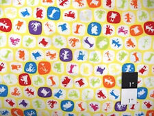 Scott Jarrard Boogie Monsters Silhouette Yellow By Yd