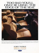 1997 Ford Taurus SHO - interior - Classic Vintage Advertisement Ad H41