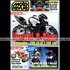 MOTO REVUE N°3493 DUCATI 900 S HONDA HORNET YAMAHA FZS 1000 FAZER, SUZUKI B-KING