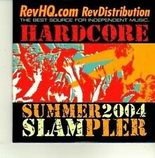 (DE178) Hardcore, Summer 2004 sampler, 20 tracks various artists - 2004 DJ CD