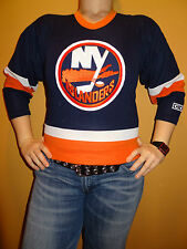 New York Islanders Embroidered CCM NHL Jersey Sz Yth S Jrs S Canada