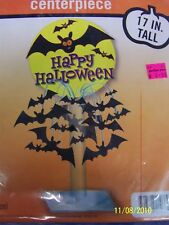 Happy Halloween Party Decoration Bats Spray Centerpiece