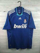 Real Madrid jersey medium 2008 2009 away shirt soccer football Adidas