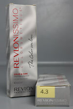 Revlon Revlonissimo Colorsmetique 4.3 Haarfarbe Mittelbraun Gold 2x60ml OS18-4.3