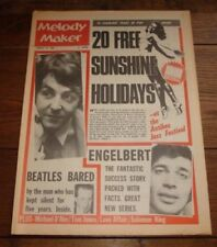 February Melody Maker Music, Dance & Theatre Magazines in English