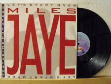 "12"" Maxi - MILES JAYE feat. ROY AYERS - Let´s Start Over (Extended 6:08) - 1987"