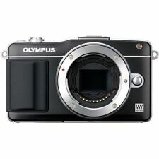 Near Mint! Olympus E-PM2 16MP Body Black - 1 year warranty