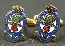 PWRR Princess Of Wales Royal Regiment  regimental Military Cufflinks