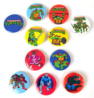 Mirage Studios Teenage Mutant Ninja Turtles Button Lot TMNT Pinback 1989 2011