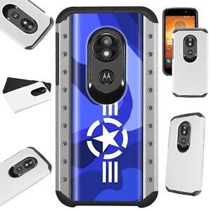 FUSION Case For Motorola Moto G7 Power/Supra/Plus Phone Cover AIR FORCE STAR