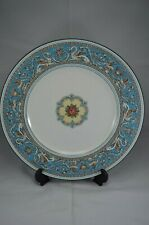 WEDGWOOD FLORENTINE TURQUOISE 10.5 INCH DINNER PLATE GREEN BACKSTAMP