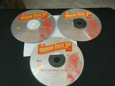 Oregon Trail 3rd Edition Pioneer Adventures (PC Games, 1998) - Discs Only!!!