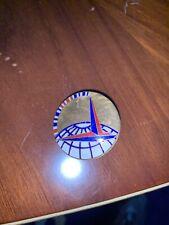 NYWF 1939 brass lapel pin