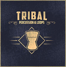 Tribal EDM House Techno Percussion Loops Samples Shakers Bongo Conga WAV REX2