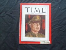 1943 AUGUST 30 TIME MAGAZINE - GENERAL IRA EAKER OF THE EIGHTH - T 879
