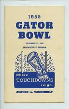 1955 Gator Bowl College Football Media Guide
