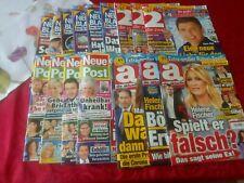 16 Ausgaben Frauenzeitschriften*12/2020- 02/21* Details s. Artikelbeschreibung