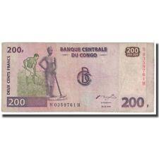[#123584] Billet, Congo Democratic Republic, 200 Francs, 2000, 2000-06-30