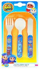Go Jetters 3-Piece Cutlery Set | Knife, Fork and Spoon