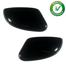 FORD FOCUS GLOSS BLACK DOOR WING MIRROR COVERS CAPS PAIR OF LEFT RIGHT RS ST S