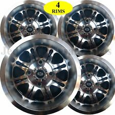 FOUR ATV RIMs WHEELs fits some Yamaha Rhino w/ IRS 547 SPIRIT 12x7 12x8 4/110