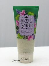 Bath & Body Works APPLE BLOSSOM & LAVENDER BODY SCRUB 6 FL OZ