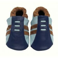 NEW Cheeky Little Soles Strike - Small Baby Boys Soft Soled Leather Shoes