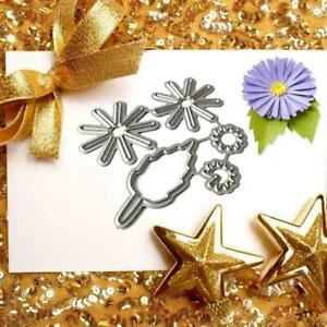 Flower Leaf Metal Cutting Dies Stencil Scrapbooking Handade Album DIY Paper New