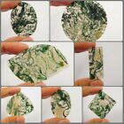 100 % Natural Green Forest Moss Agate Loose Cabs Gemstone ANG10115-10199