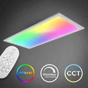 LED Panel dimmbar 60x30cm ultraflach Deckenleuchte CCT RGB Deckenlampe Büro 15W