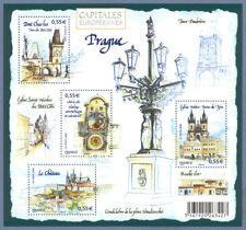 Bloc Feuillet BF126 - Capitales européennes - Prague - 2008