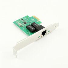 RTL8111E 100/1000Mbps RJ45 Pci-E Gigabit Ethernet Lan Tarjeta de Red + Low