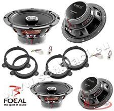 FOCAL 4 speakers kit for RENAULT / DACIA spacer rings adapters