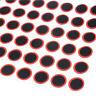 48Stk 25mm Round Rubber Patch-Fahrrad- Gummireifen-Reifen Flickstück-Flicke W6Z5