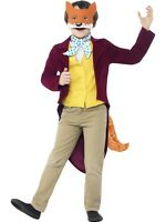 Boys Roald Dahl Fantastic Mr Fox Book Day Character Fancy Dress Costume Outfit