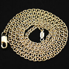 "30"" | 3.5mm MARINER Link 24k 14K Yellow GOLD GL Necklace | + LIFETIME GUARANTEE"