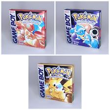 Pokémon Blue (Nintendo Game Boy, 1999)