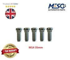5 OF FRONT WHEEL HUB STUD M14 35mm FORD TRANSIT MK6 2000-2006 SINGLE REAR WHEEL
