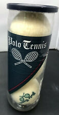 Vintage Polo Ralph Lauren Tennis Balls Off White New Sealed Can Made In Usa