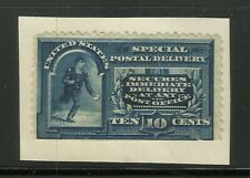 More details for us special delivery stamp 10c blue unused on piece see hi res scan