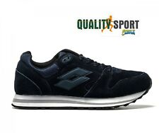 Lotto Trainer XII Suede Blu Scarpe Shoes Uomo Sportive Sneakers T6501 2018