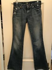 SEVEN 7 FOR ALL MANKIND  Destroyed A Pocket Jeans 27