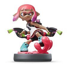 GENUINE Nintendo Switch amiibo Wii U Splatoon 2 Inkling Girl Neon Pink New